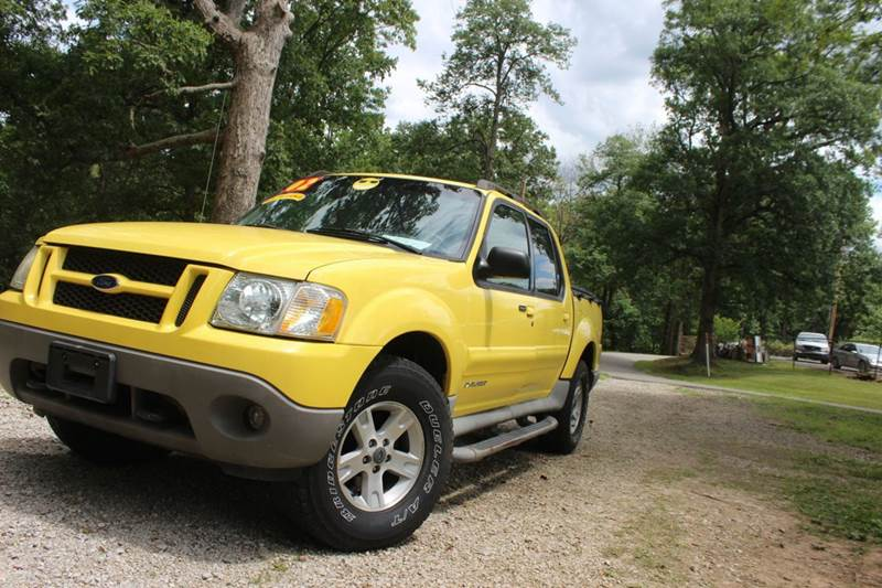 2002 Ford Explorer Sport Trac 4dr 4WD Crew Cab SB - Ashland KY