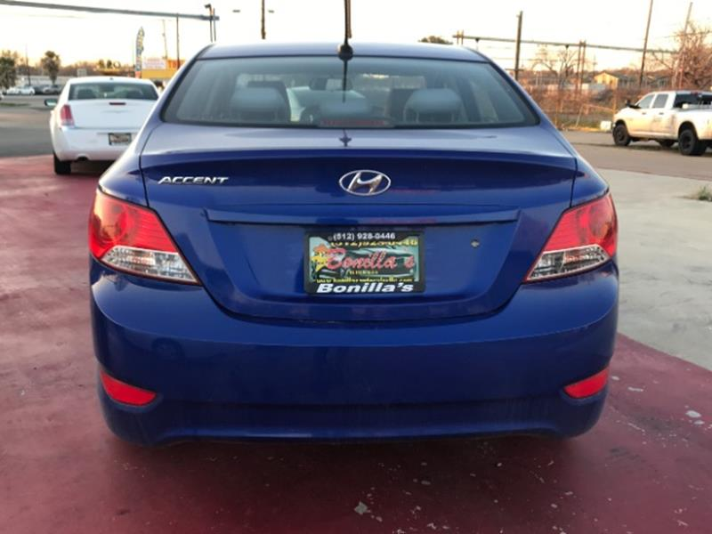 2013 Hyundai Accent GLS 4dr Sedan - Austin TX