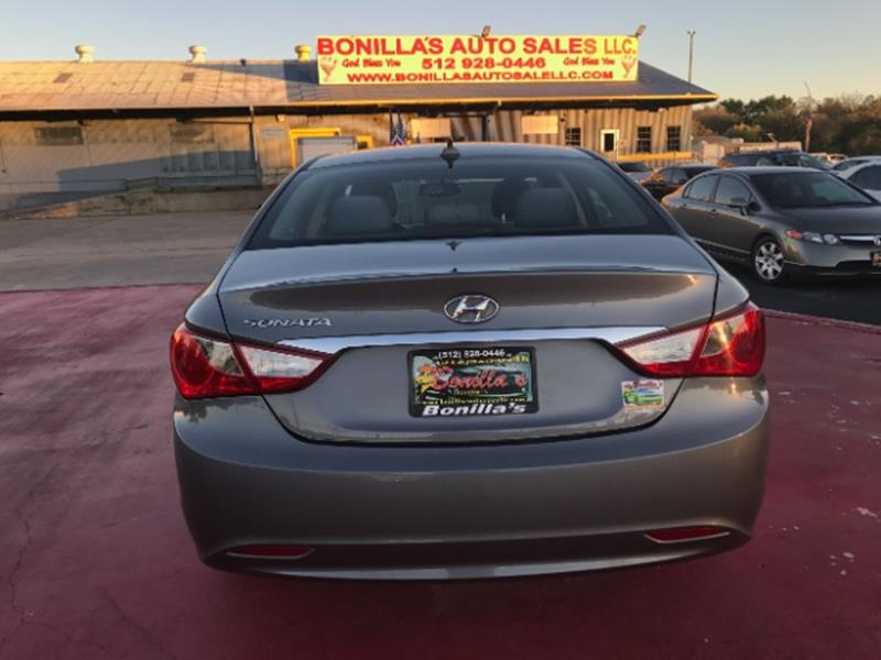 2012 Hyundai Sonata GLS 4dr Sedan - Austin TX