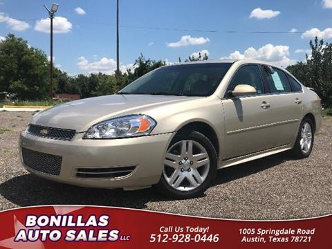 2012 Chevrolet Impala for sale in Austin, TX