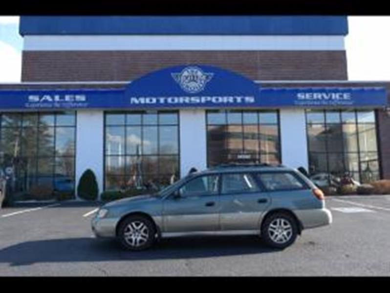 Subaru outback for sale in lowell ma for Motor vehicle lowell ma