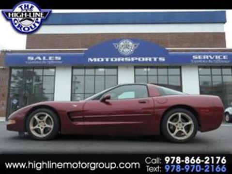 2003 Chevrolet Corvette For Sale In Lowell, MA
