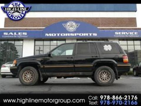1995 Jeep Grand Cherokee For Sale In Lowell, MA