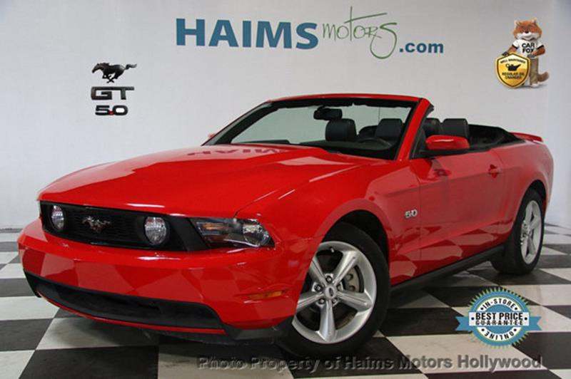 Ford Mustang 2012 2dr Convertible GT