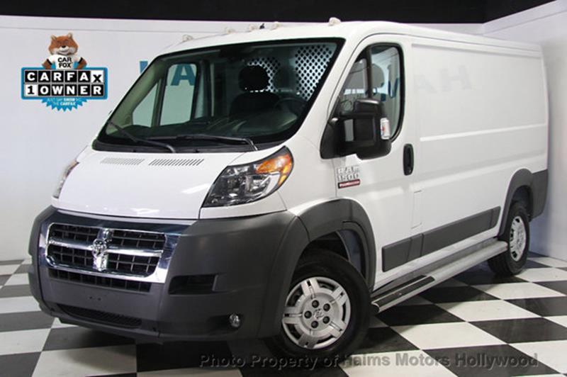 RAM ProMaster Cargo 2016 1500 136 WB 3dr Low Roof Cargo Van