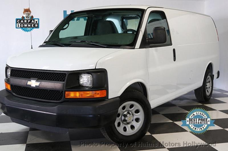 Chevrolet Express Cargo 2014 1500 3dr Cargo Van