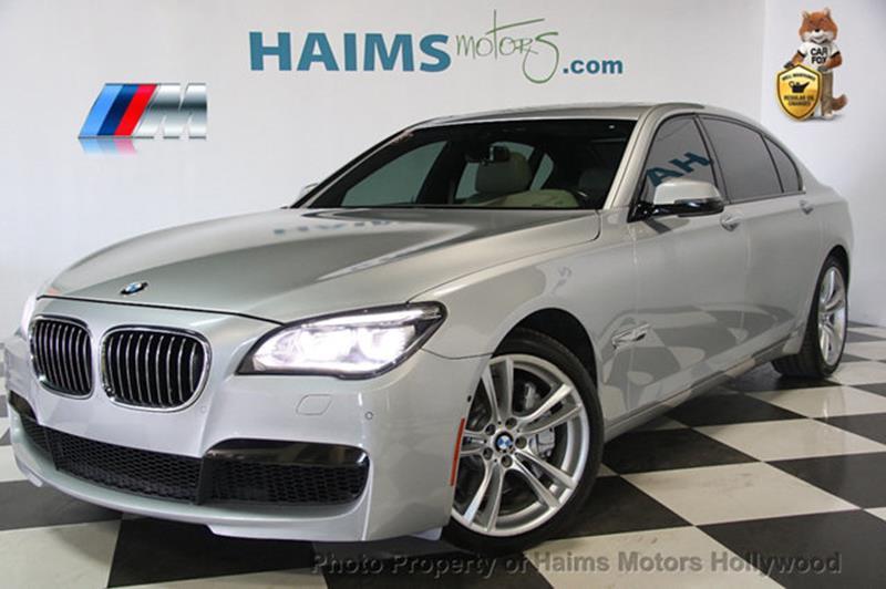BMW 7 Series 2013 750Li 4dr Sedan