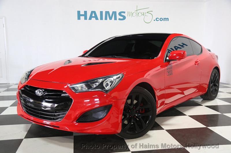 Hyundai Genesis Coupe 2013 2dr I4 2.0T Automatic