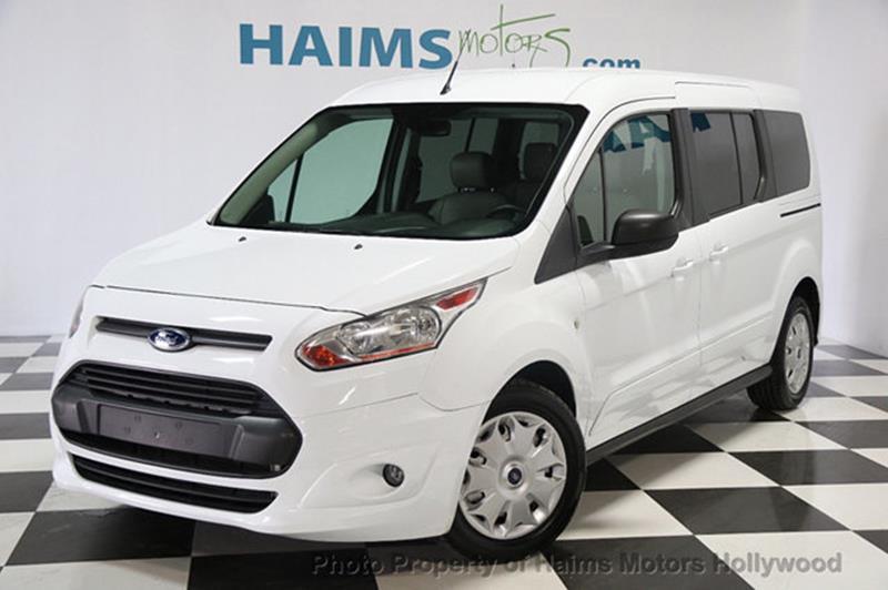 Ford Transit Connect Wagon 2014 XLT 4dr LWB Mini Van w/Rear Cargo Doors