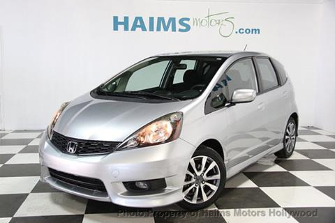 2013 Honda Fit for sale in Hollywood, FL