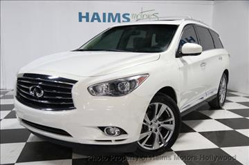 2013 Infiniti JX35 for sale in Hollywood, FL