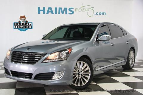 2014 Hyundai Equus for sale in Hollywood, FL