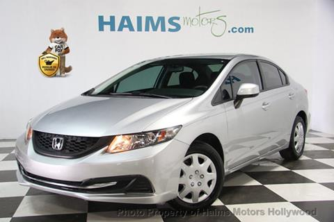 2013 Honda Civic for sale in Hollywood, FL