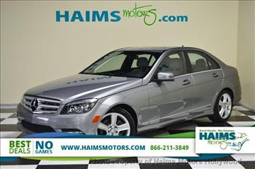 2011 Mercedes-Benz C-Class for sale in Hollywood, FL