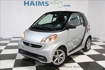 2015 Smart fortwo for sale in Hollywood, FL
