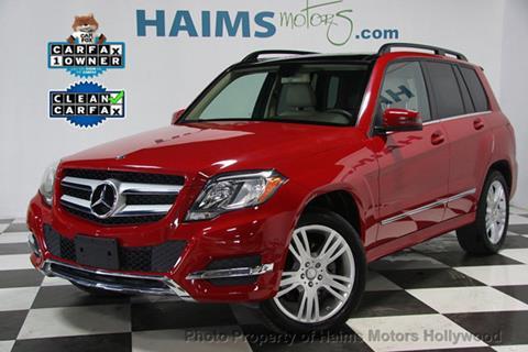 2015 Mercedes-Benz GLK for sale in Hollywood, FL