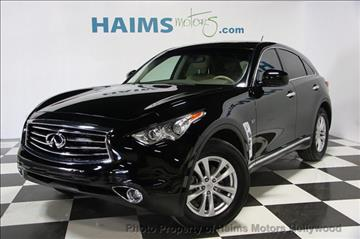 2016 Infiniti QX70 for sale in Hollywood, FL