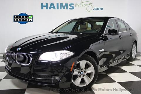 2013 BMW 5 Series for sale in Hollywood, FL