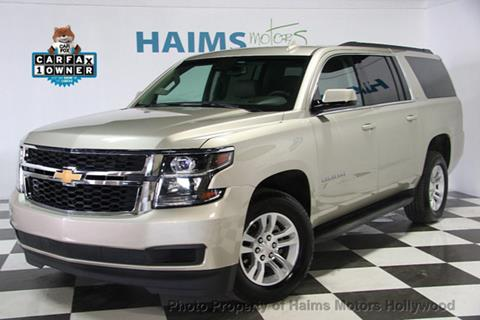 2017 Chevrolet Suburban for sale in Hollywood, FL