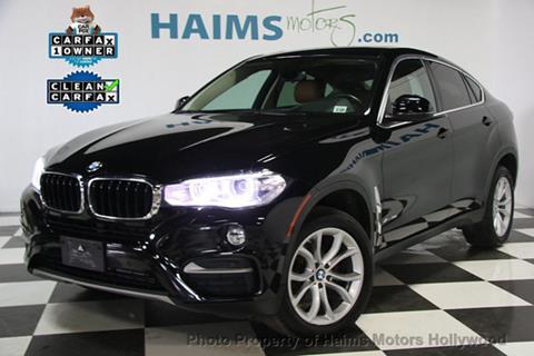 2015 BMW X6 for sale in Hollywood, FL
