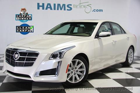 2014 Cadillac CTS for sale in Hollywood, FL