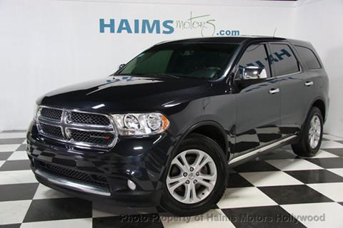 2013 Dodge Durango for sale in Hollywood, FL