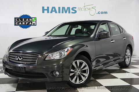 2013 Infiniti M37 for sale in Hollywood, FL