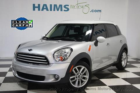 2012 MINI Cooper Countryman for sale in Hollywood, FL