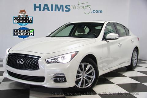 2016 Infiniti Q50 for sale in Hollywood, FL