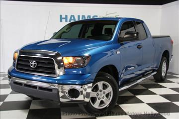 2007 Toyota Tundra for sale in Hollywood, FL