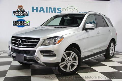 2014 Mercedes-Benz M-Class for sale in Hollywood, FL