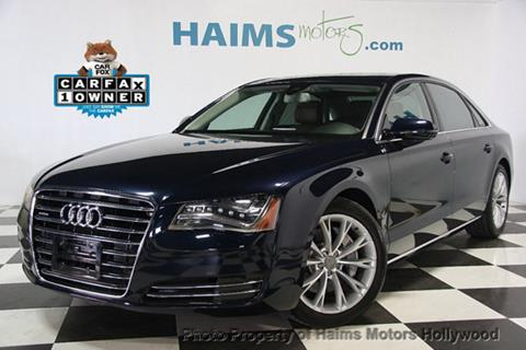 2014 Audi A8 L for sale in Hollywood, FL