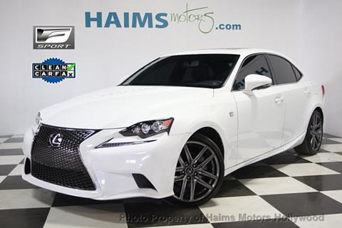 2015 Lexus IS 250 for sale in Hollywood, FL