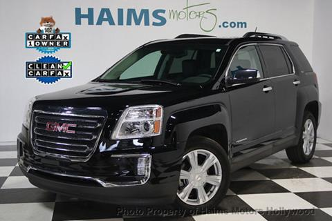 2016 GMC Terrain for sale in Hollywood, FL