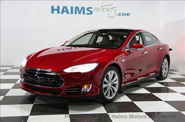 2014 Tesla Model S for sale in Hollywood, FL