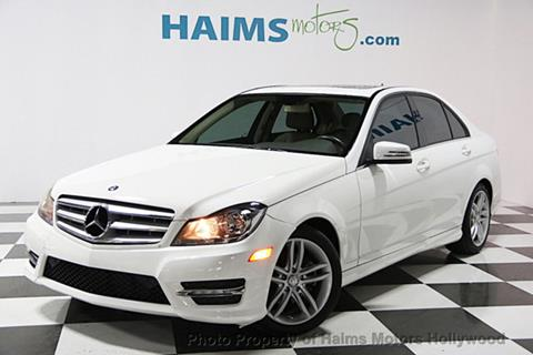 2013 Mercedes-Benz C-Class for sale in Hollywood, FL