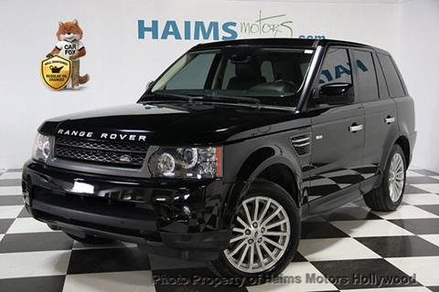 2011 Land Rover Range Rover Sport for sale in Hollywood, FL