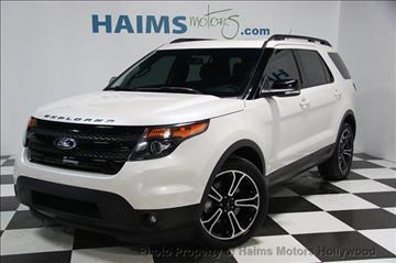 2015 Ford Explorer for sale in Hollywood, FL