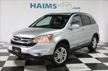 2010 Honda CR-V for sale in Hollywood, FL