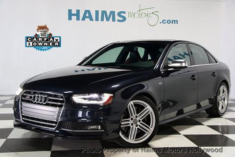 2014 Audi S4 for sale in Hollywood, FL