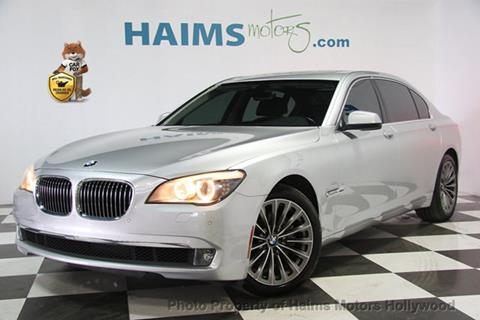 2012 BMW 7 Series for sale in Hollywood, FL