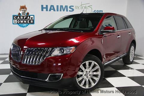 2015 Lincoln MKX for sale in Hollywood, FL