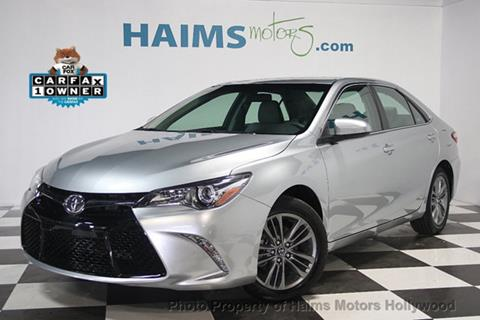 2017 Toyota Camry for sale in Hollywood, FL