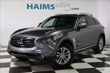 2013 Infiniti FX37 for sale in Hollywood, FL