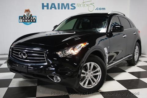 2015 Infiniti QX70 for sale in Hollywood, FL