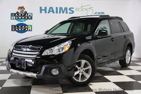 2014 Subaru Outback for sale in Hollywood, FL