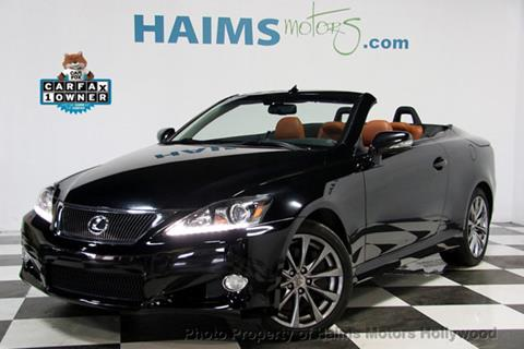 2013 Lexus IS 350C for sale in Hollywood, FL
