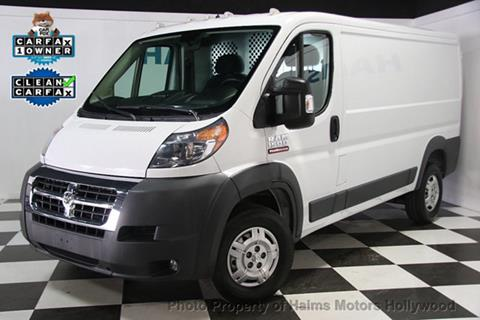 2016 RAM ProMaster Cargo for sale in Hollywood, FL