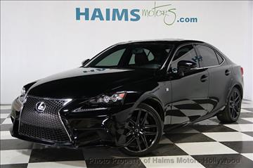 2014 lexus is 250 for sale florida. Black Bedroom Furniture Sets. Home Design Ideas
