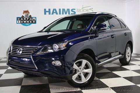 2014 Lexus RX 350 for sale in Hollywood, FL